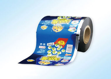 Eco Friendly Laminated Plastic Packaging Film Roll OEM Design 10 Colors