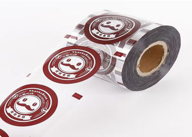 Custom Logo Plastic Packaging Wrap Roll Transparent Laminating For Tissue / Food